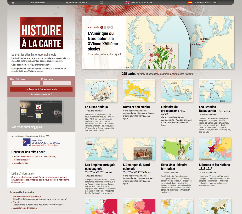 l histoire à la carte Histoire à la carte | Réseau Carel
